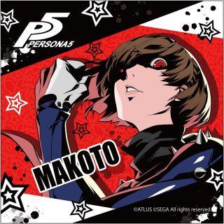 Persona 5 poster Makoto figure