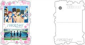 映画 ハイ☆スピード! ダイカットポストカード C (キャラクターグッズ)