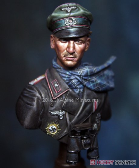 WWII 独 第116装甲師団 「グレイハウンド」 将校 (バストモデル) (プラモデル)