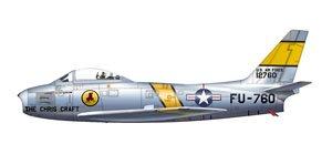 F-86E セイバー `チャールズ・G・クリーブランド` (完成品)