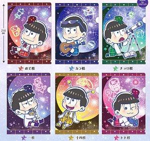 おそ松さん とじコレ 星松 ミニクリアファイル 7枚セット (キャラクターグッズ)
