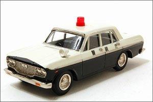 ファインモデル トヨペット・クラウン1965年式 パトカー (白/黒) (ミニカー)
