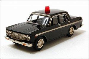 ファインモデル トヨペット・クラウン1965年式 捜査用パトカー (黒) (ミニカー)