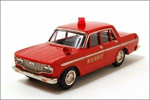 ファインモデル トヨペット・クラウン1965年式 消防指令車 (赤) (ミニカー)