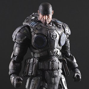 Gears of War Play Arts Marcus Fenix (PVC Figure)