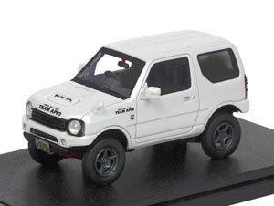 Suzuki Jimny Apio Ts4 2015 Pearl White Diecast Car Hobbysearch