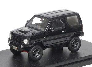 SUZUKI JIMNY APIO TS4 (2015) ブルーイッシュブラックパール (ミニカー)