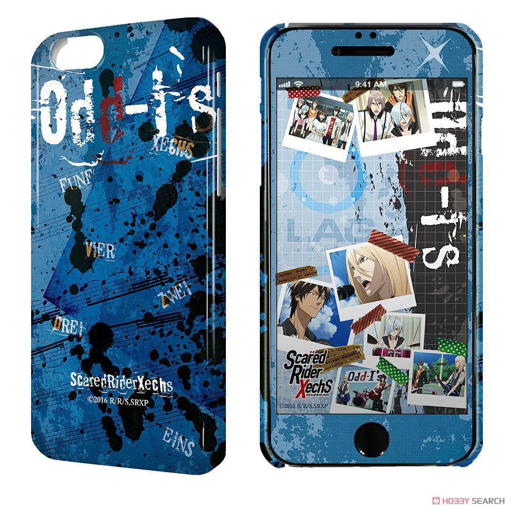 デザジャケット 「スカーレッドライダーゼクス」 iPhone6/6sケース&保護シート デザイン02 (キャラクターグッズ)