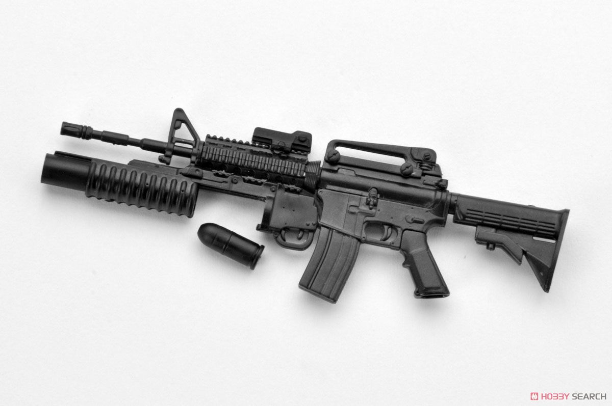 1/12 Little Armory (LA025) M4A1 & M203タイプ (プラモデル)