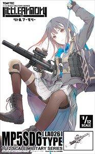 1/12 Little Armory (LA026) MP5SD6タイプ (プラモデル)