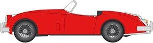 ジャガー XK150 ロードスター カルメンレッド (ミニカー)