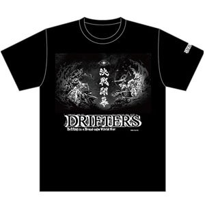 『ドリフターズ』 Tシャツ 決戦開幕柄 M (キャラクターグッズ)