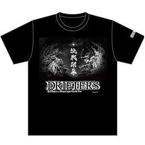 『ドリフターズ』 Tシャツ 決戦開幕柄 XL (キャラクターグッズ)