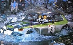 Saab 99 EMS Rally 1976 Boucles de SPA (Belgium) 1st Place ...