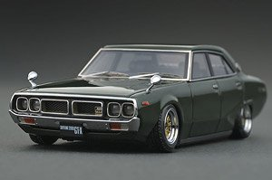 Nissan Skyline 2000 GT-X (GC110) Green (ミニカー)