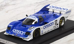 OMRON Porsche 962C (#17) 1988 WEC IN JAPAN (ミニカー)