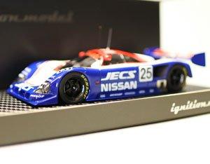 JECS Nissan R90CK (#25) 1990 Le Mans (ミニカー)