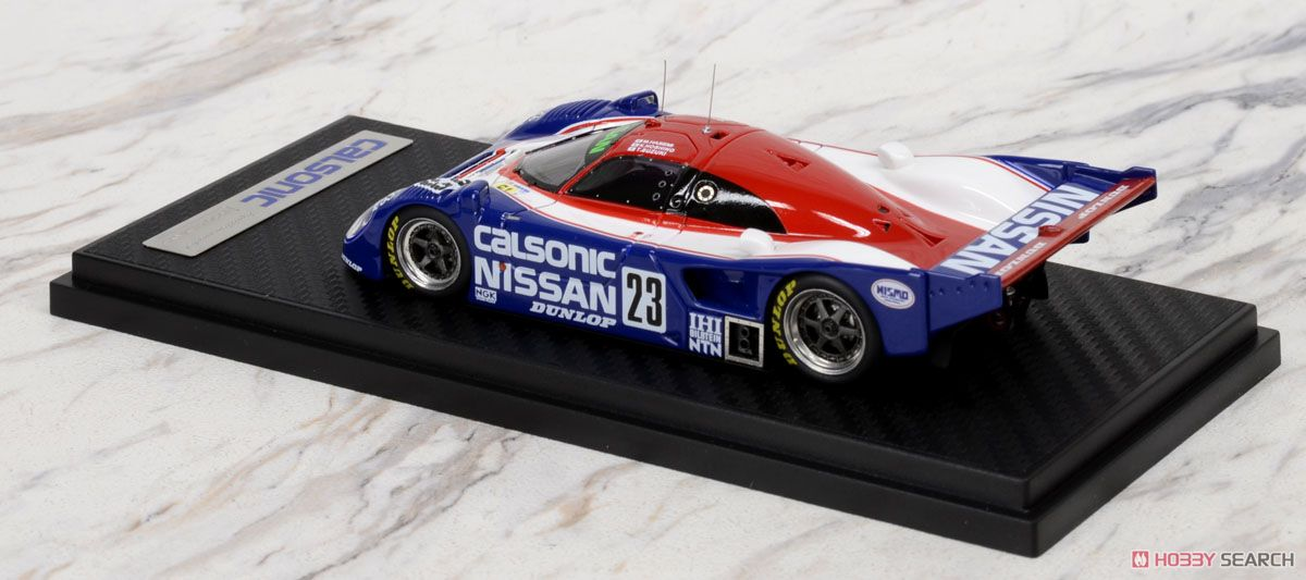 CALSONIC Nissan R90CP (#23) 1990 Le Mans (ミニカー)