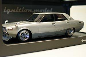 Nissan Skyline 2000 GT-X (GC110) Silver ※SSR Type-Wheel (ミニカー)