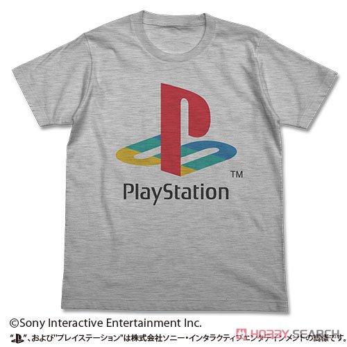 プレイステーション Tシャツ/初代`PlayStation` HEATHER GRAY M (キャラクターグッズ)