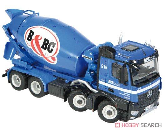 メルセデス ベンツ アロクス 8×4 ミキサー車 `BaBC` (ミニカー)