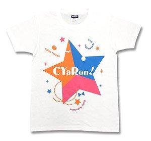 ラブライブ!サンシャイン!! ユニットロゴTシャツ CYaRon S (キャラクターグッズ)