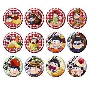 おそ松さん おこさ松ランチトレーディング缶バッジ 12個セット (キャラクターグッズ)