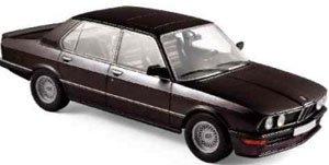 BMW M535i 1980 ブラック (ミニカー)