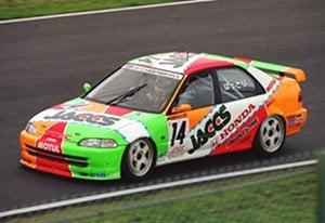 ホンダ シビック EG9 レーシング JACCS #14 JTCC 1995年 (ミニカー)