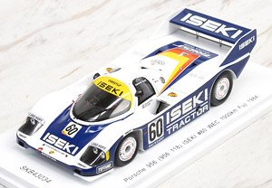Porsche 956 (956 118) ISEKI #60 WEC 1000km Fuji 1984 V.Schppan / H-J.Stuck (ミニカー)