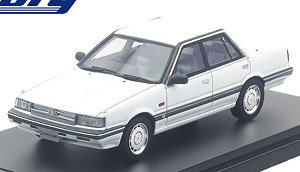 NISSAN SKYLINE SEDAN GT PASSAGE TWINCAM 24V (1985) クリスタルホワイト (ミニカー)
