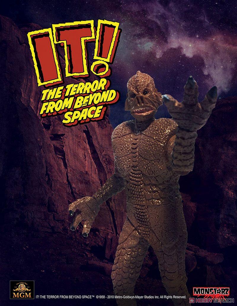 Monstarz モンスターズ/ 恐怖の火星探検: ザ・テラー 火星の吸血獣 3.75インチ レトロ アクションフィギュア レッドサンド ver (完成品)