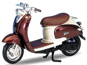 ヤマハ VINO 1999 YJ50R (ブラウン/アイボリー) (ミニカー)
