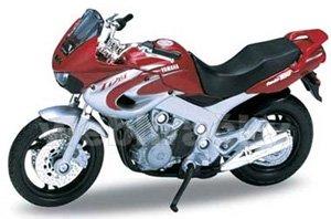 ヤマハ 2001 TDM850 (レッド/シルバー) (ミニカー)