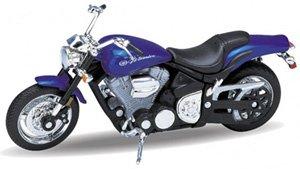 ヤマハ ロードスター 2002 WARRIOR (ブルー) (ミニカー)