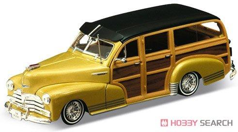 シボレー フリートマスター 1948 (ゴールド) (ミニカー)