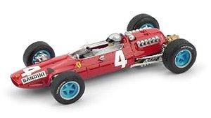フェラーリ 512 1965年イタリアGP 4位 #4 L.BANDINI レジン製ドライバーフィギュア付 (ミニカー)