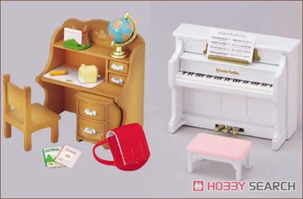For The First Time of The Sylvanian Families Recommended Furniture Set (Sylvanian Families) Item picture3