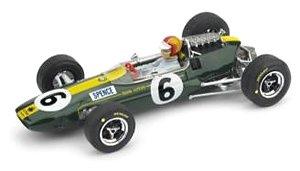 ロータス 33 1965年イギリスGP 4位 M.SPENCE レジン製ドライバーフィギュア付 (ミニカー)