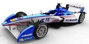 2016-17 FIA Formula-E #27 Robin Frijns/Team MS Amlin (ミニカー)