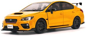 スバル WRX Sti S207 NBR チャレンジパッケージ イエロー (ミニカー)