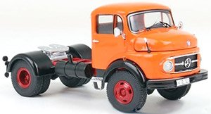 メルセデス L 911 1968 トラックヘッド (オレンジ) (ミニカー)