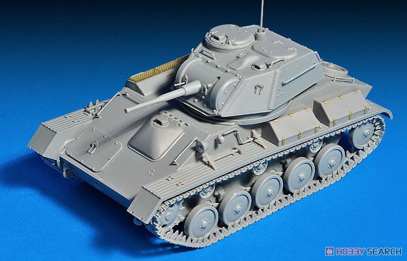 T-80ソビエト軽戦車&乗組員5体+履帯連結可動式 特別版 (プラモデル)