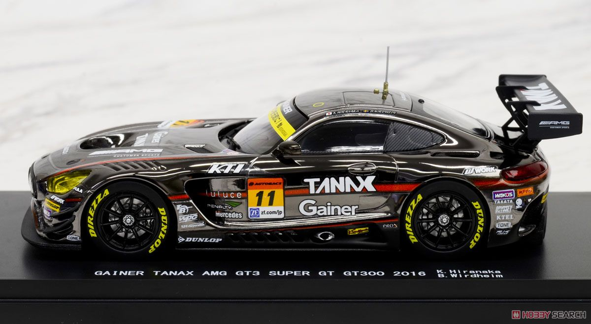 GAINER TANAX AMG GT3 SUPER GT GT300 2016 No.11 (ミニカー)