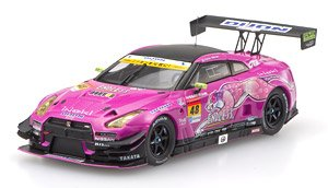 DIJON Racing GT-R SUPER GT GT300 2016 No.48 (ミニカー)