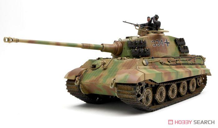 ドイツ 重戦車 キングタイガー ヘンシェル砲塔 (プラモデル)