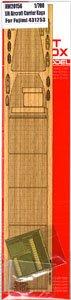 日・航空母艦 加賀 三段式飛行甲板時用木製甲板 (エッチングパーツ付) (F社用) (プラモデル)