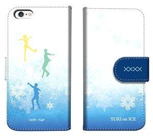 「ユーリ!!! on ICE」 ダイアリースマホケース for iPhone6/6s (キャラクターグッズ)