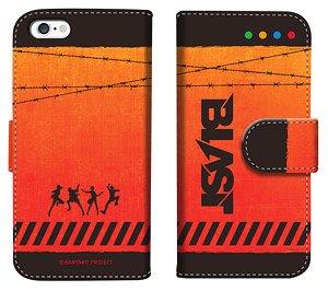 「バンドやろうぜ!」 ダイアリースマホケース for iPhone6/6s 01 (BLAST) (キャラクターグッズ)