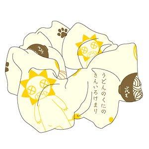 「うどんの国の金色毛鞠」 シュシュ (キャラクターグッズ)